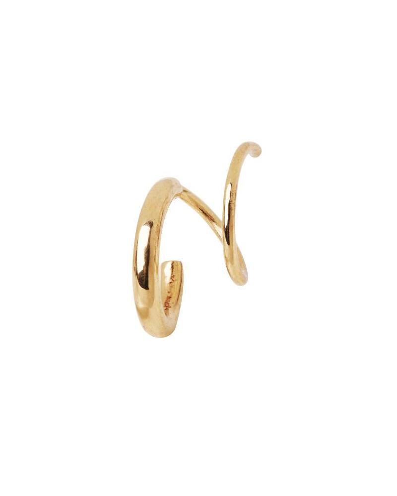 MARIA BLACK MARIA BLACK / Dogma Twirl Earring right (Gold HP, o/s)