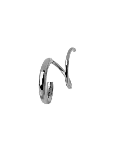 MARIA BLACK MARIA BLACK / Dogma Twirl Earring Right (Silver, o/s)