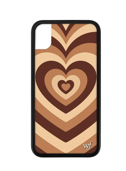WILDFLOWER WILDFLOWER / Coffee Hearts iPhone XR