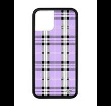 WILDFLOWER / Lavender Plaid iPhone11Pro Max