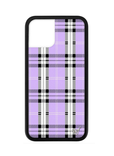 WILDFLOWER WILDFLOWER / Lavender Plaid iPhone11Pro Max