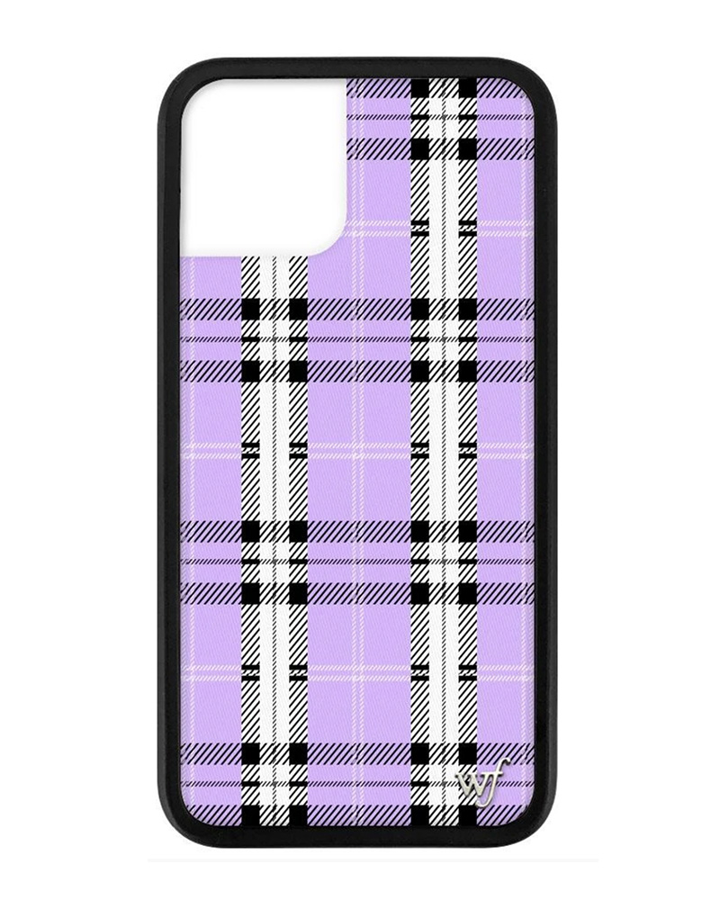 WILDFLOWER WILDFLOWER / Lavender Plaid iPhone11Pro Max