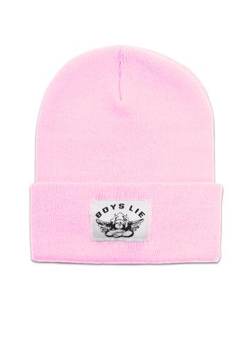 BOYS LIE BOYS LIE / Boys Lie Beanie (Baby Pink)