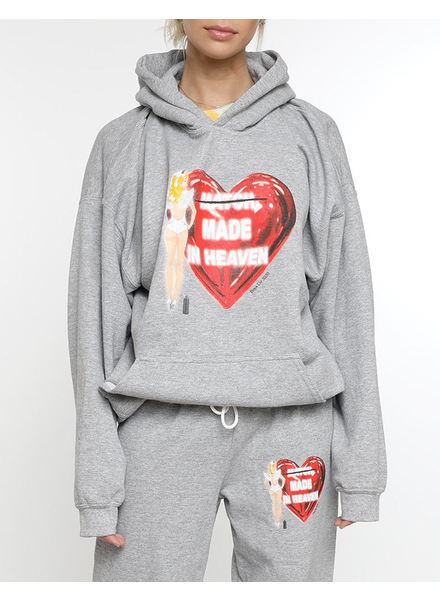 BOYS LIE BOYS LIE / Match Made Heaven' Hoodie (Grey, o/s)