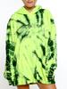 BOYS LIE BOYS LIE / 1-800 Green Remix Hoodie (Green Tie Dye, o/s)