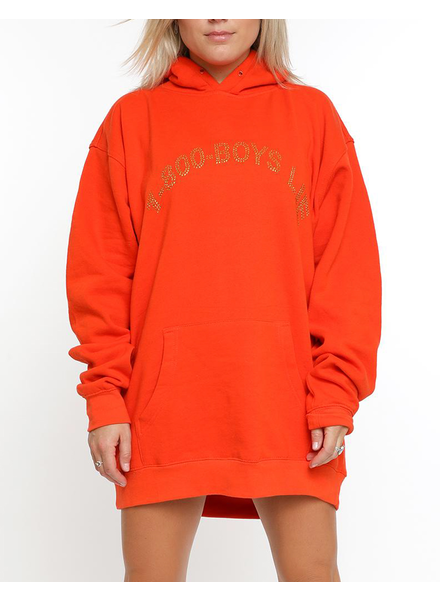 BOYS LIE BOYS LIE /  1-800 Orange Remix Hoodie (Orange, o/s)