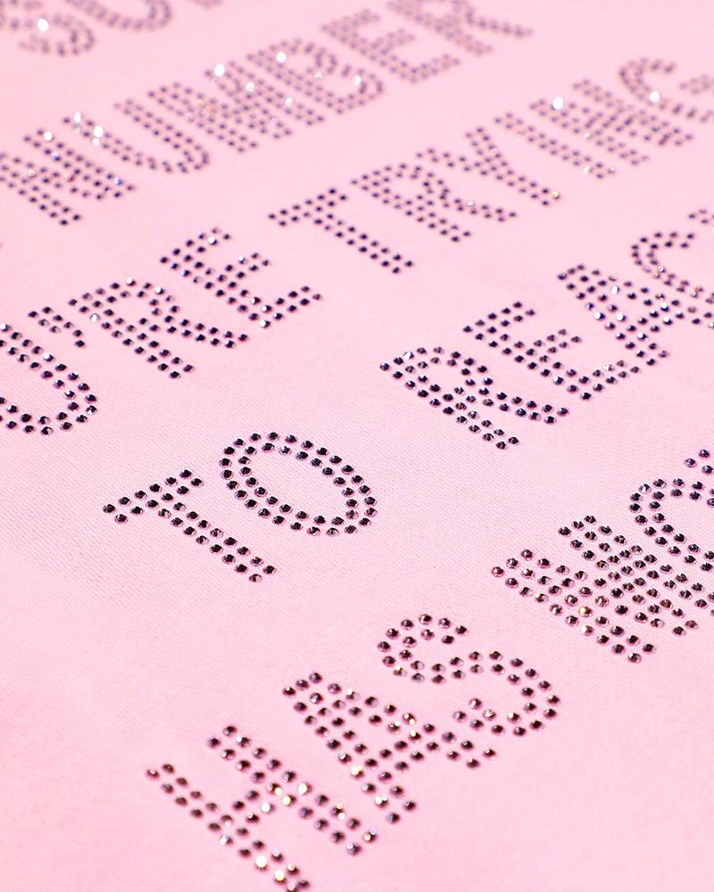 BOYS LIE BOYS LIE / PINK 1-800 REMIX Hoodie (Pink, o/s)