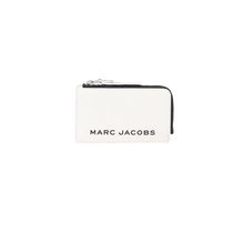 MARC JACOBS / The Bold Colorblock Small Tops Zip Wallet