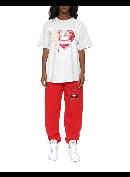 BOYS LIE BOYS LIE / Match Made in Heaven T-shirts (Ash Grey, O/S)