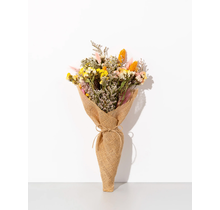 Burlap Forever Flowers | Golden Hour