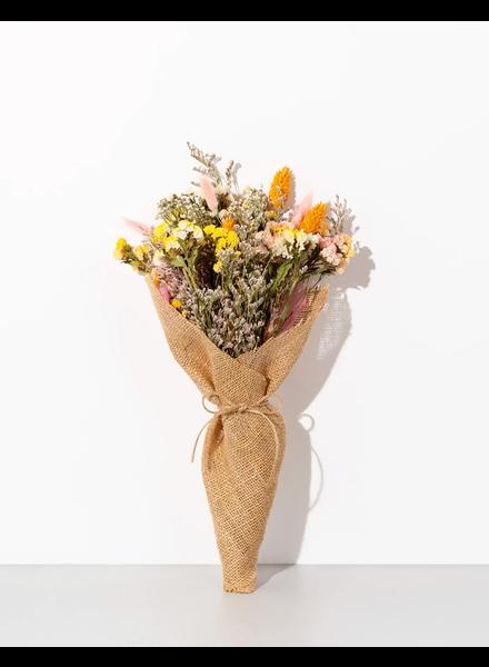 Burlap Forever Flowers   Golden Hour