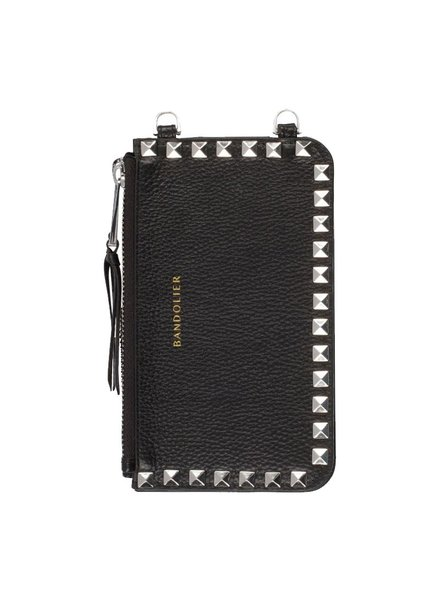 BANDOLIER BANDOLIER / Sarah Pouch (Black/Silver Studs)