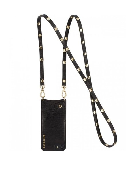 BANDOLIER BANDOLIER / Sarah (Black/Gold, iPhone6,7,8)