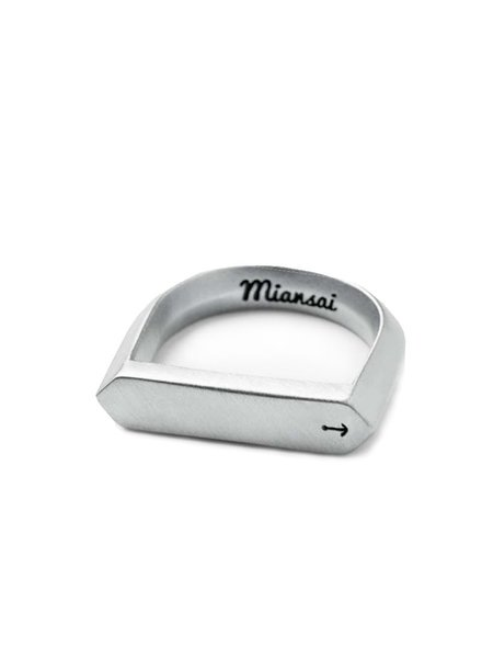 MIANSAI / Flat Top Ring (Sterling Silver)