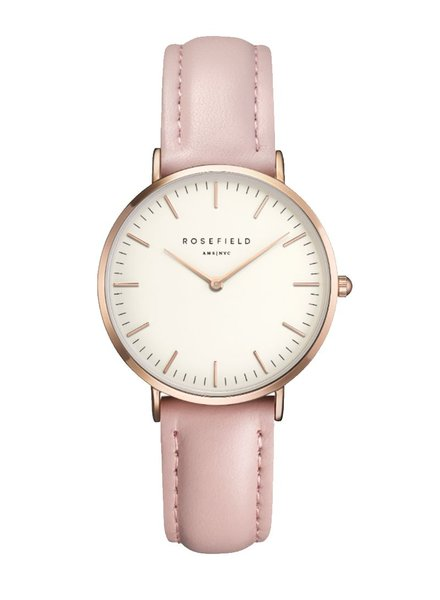 ROSEFIELD / The Tribeca Leather (White/Pink/Rosegold, o/s)