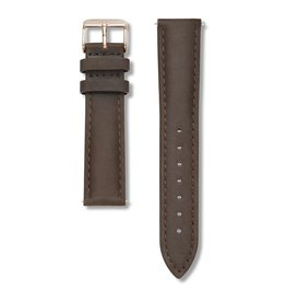 ROSEFIELD ROSEFIELD / Stitched Clasp (Brown/Rosegold)
