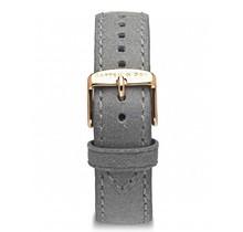 KAPTEN & SON / Campina Leather Strap  (Grey Vintage/Rose Gold, 18MM)