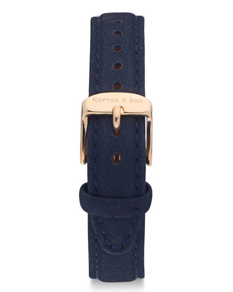 KAPTEN & SON / Joy Leather Strap (Night Blue Velvet)