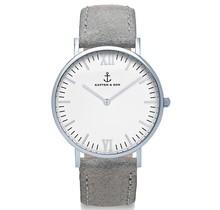 KAPTEN & SON / Campina New Vintage Grey White (Silver, o/s)