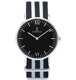 KAPTEN & SON KAPTEN & SON / Campina Nylon Night Rider Black Dial