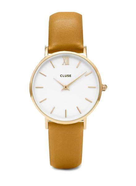 CLUSE / Minuit Gold White/Mustard
