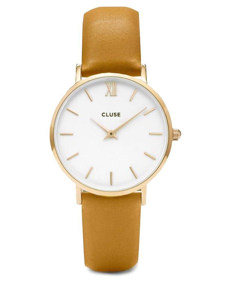 CLUSE / Minuit Gold White/Mustard