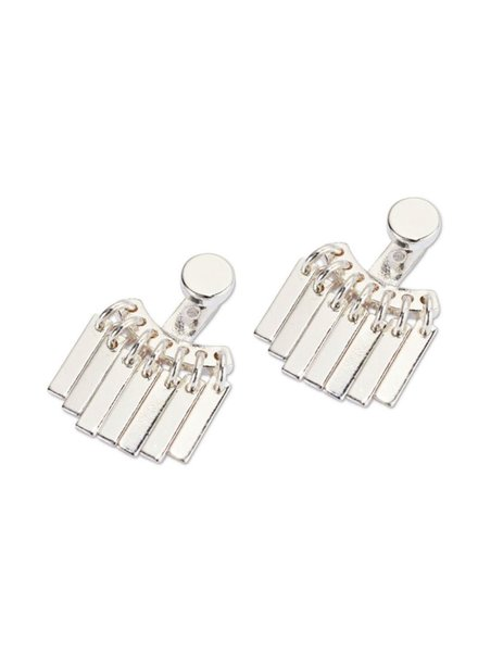 JENNY BIRD / Raya Ear Jackets, High Polish Silver
