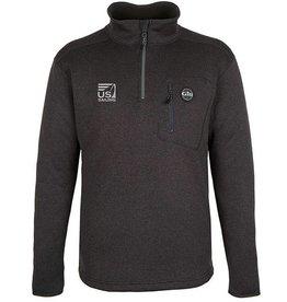Graphite Knit Fleece