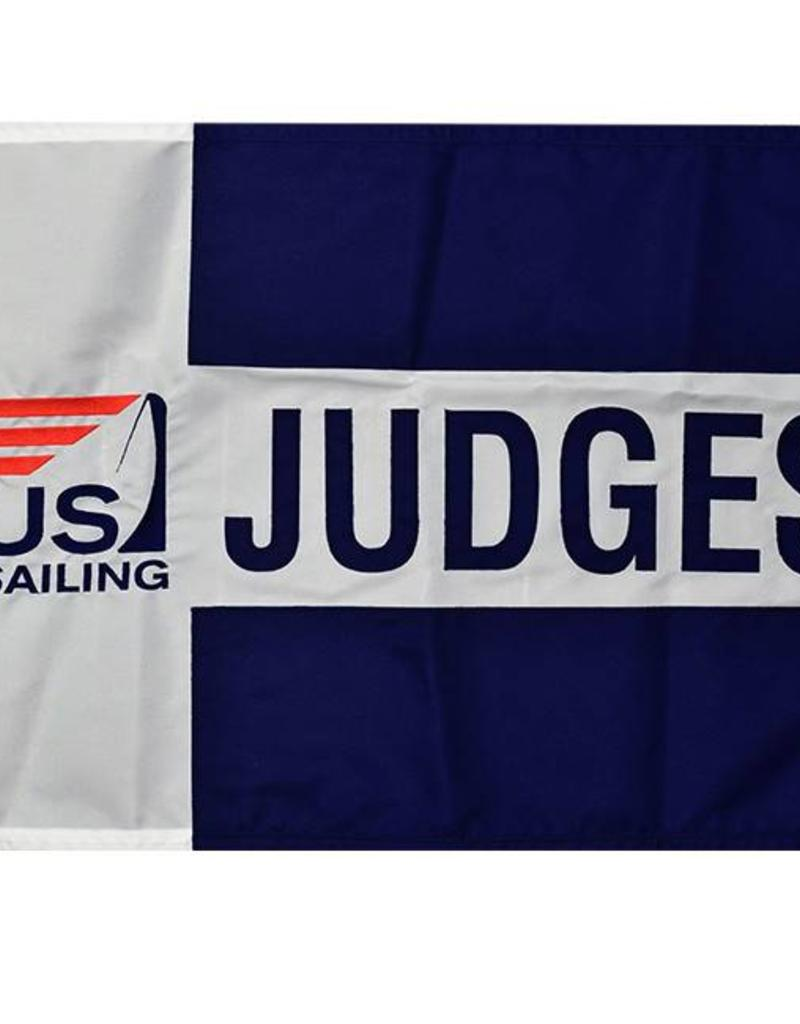 "Judges Flag 18x24"" Embroidered"
