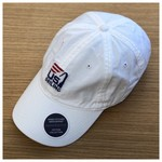 Smathers & Branson Needlepoint Hat White