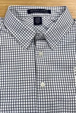 Men's Plaid Button Up with Logo