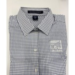 Women's Plaid Button Up with Logo