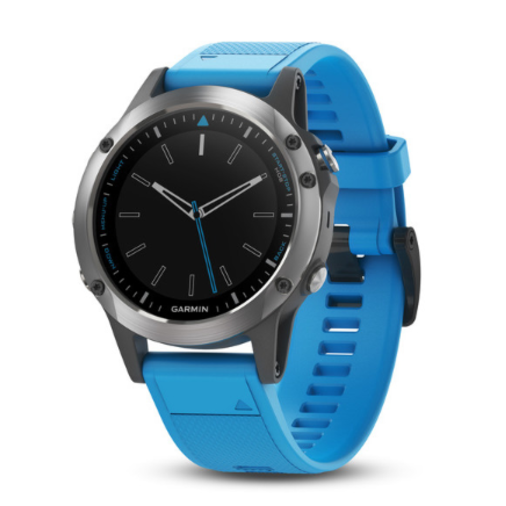 quatix® 5, Stainless Steel with Blue Band, WW