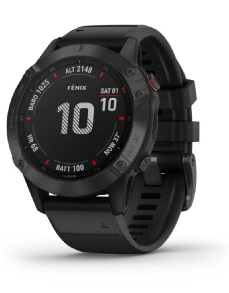 fēnix® 6 Pro - Black with Black Band