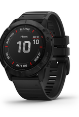 fēnix® 6X Pro - Black with Black Band
