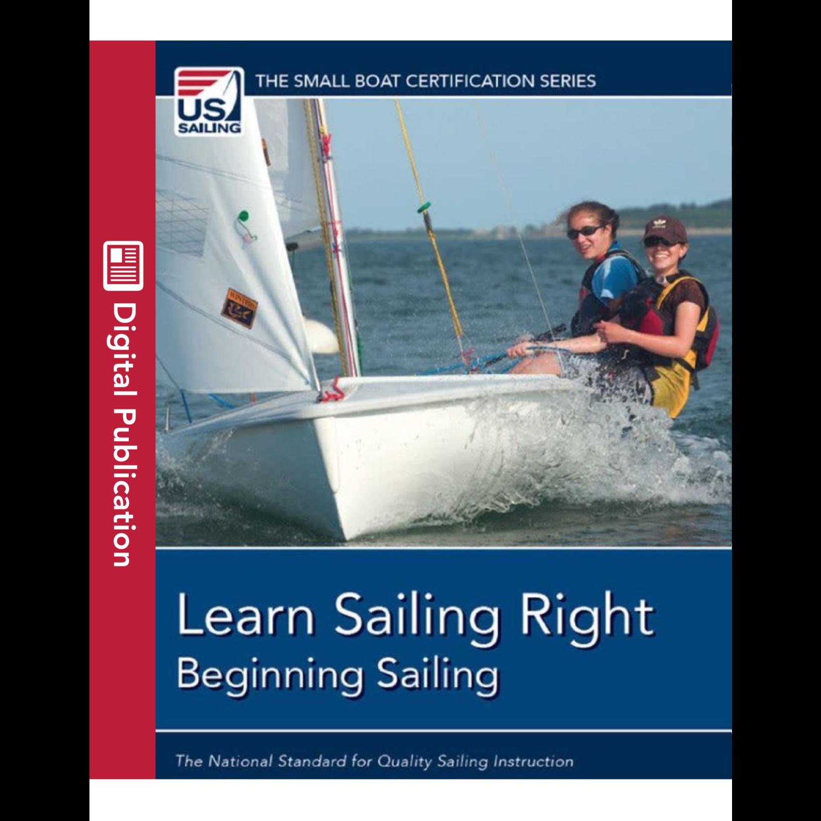 Learn Sailing Right- Beginner Digital Textbook
