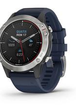 quatix® 6, Gray with Captain Blue Band