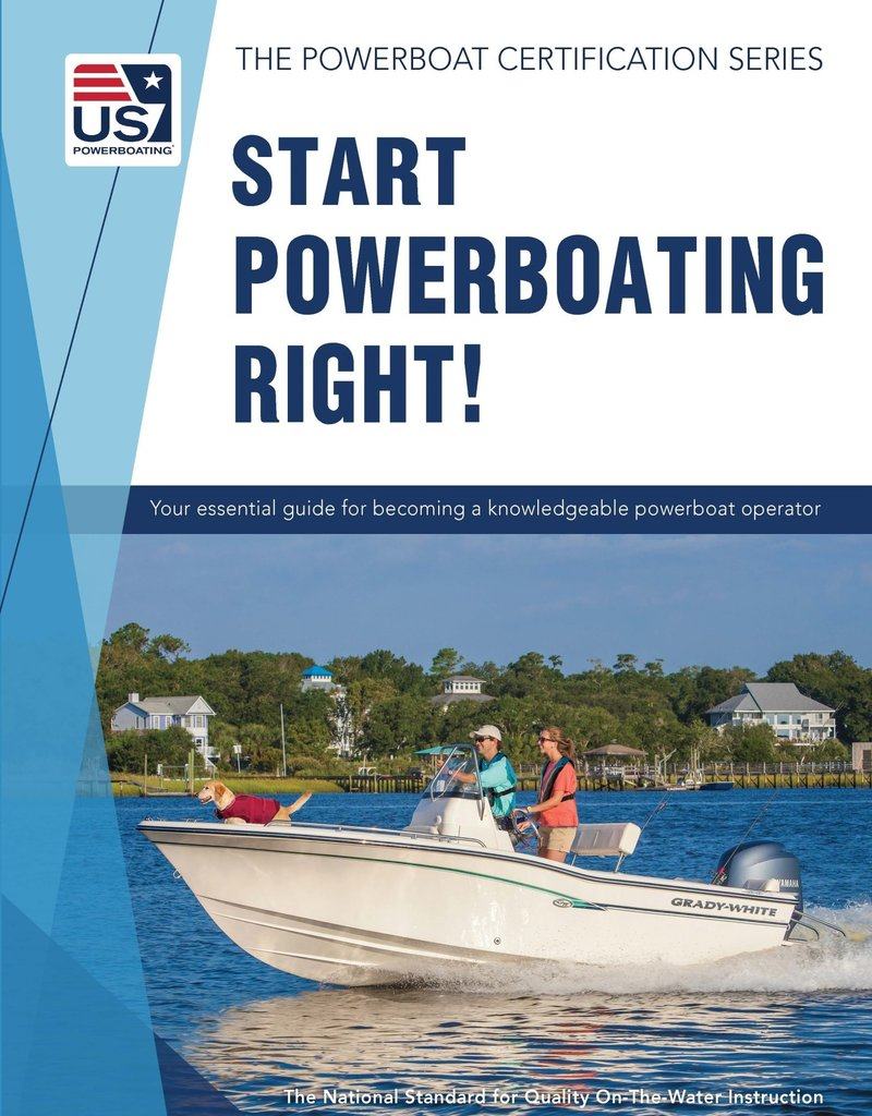 TEXT Start Powerboating Right!