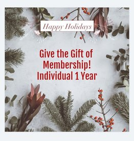 Individual 1 Year Membership Gift