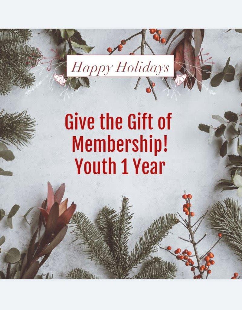 Youth 1 Year Membership Gift