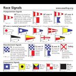 Signal Flag Sticker 21-24
