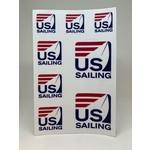 US Sailing Sticker Sheet