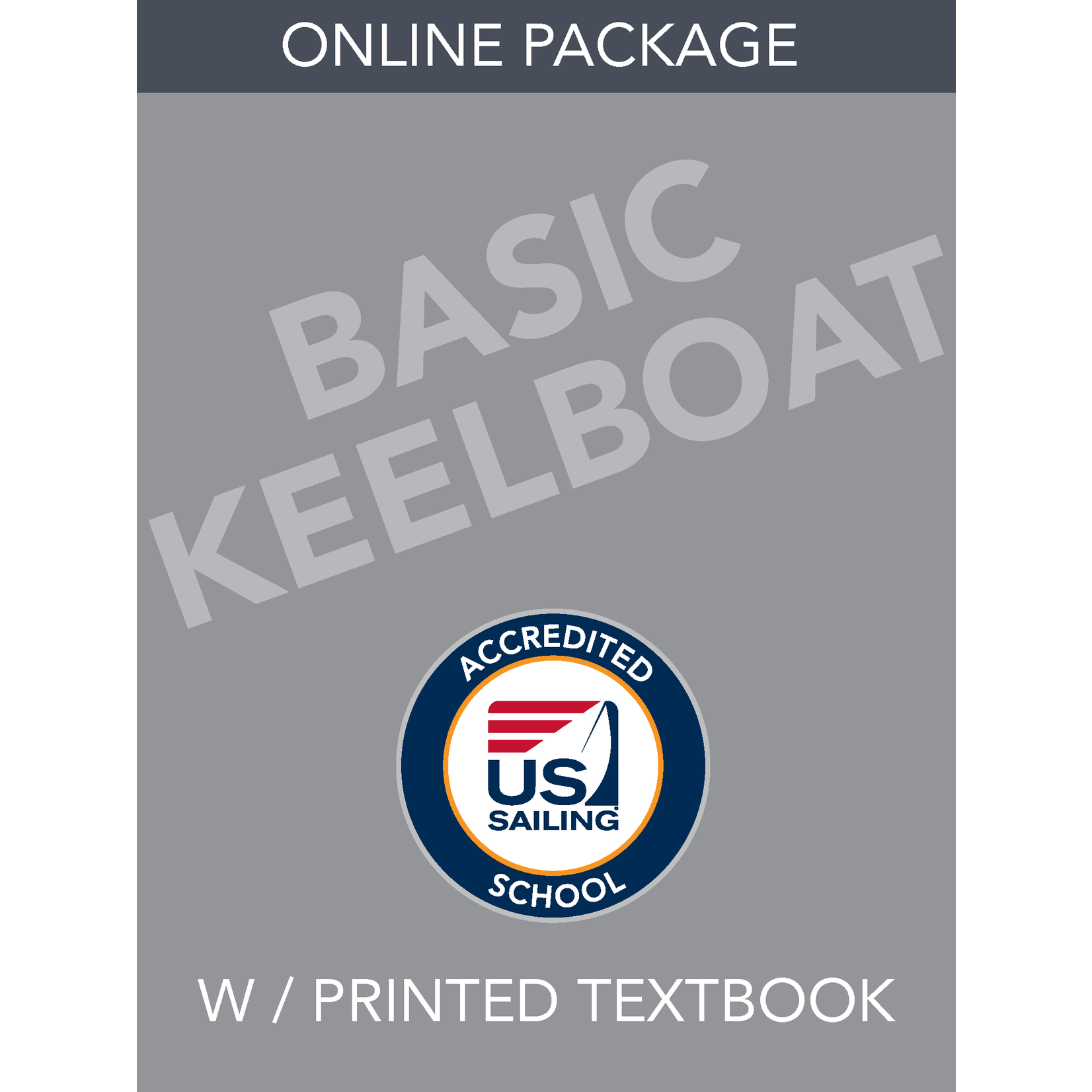 Online- Basic Keelboat Package with Textbook