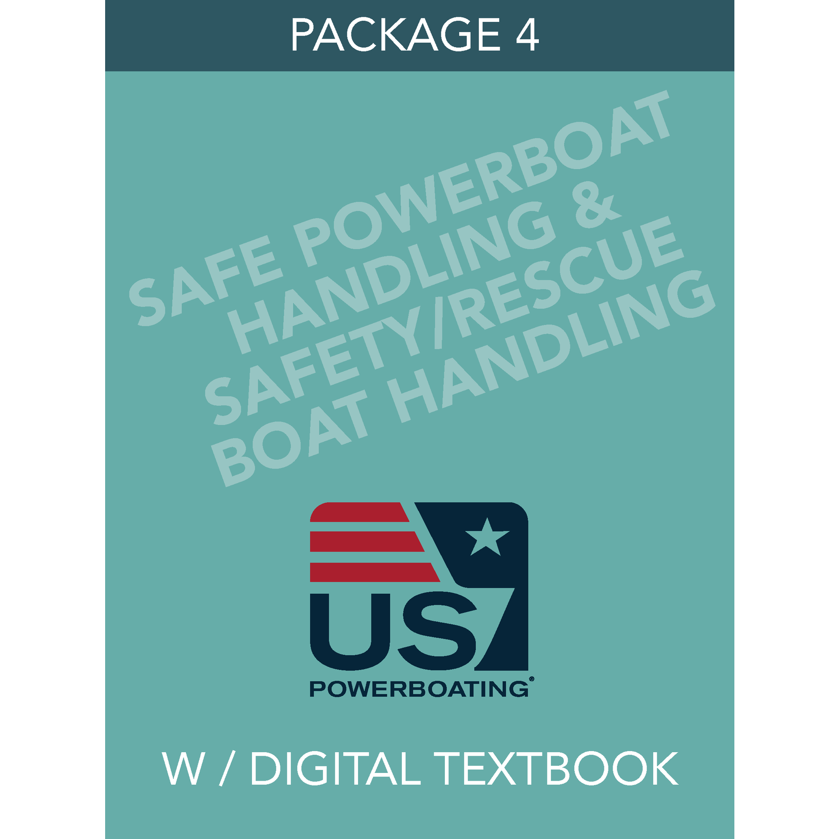 Safe Powerboat Handling & Safety/Rescue Boat Handling – Package 4 with Digital Textbook