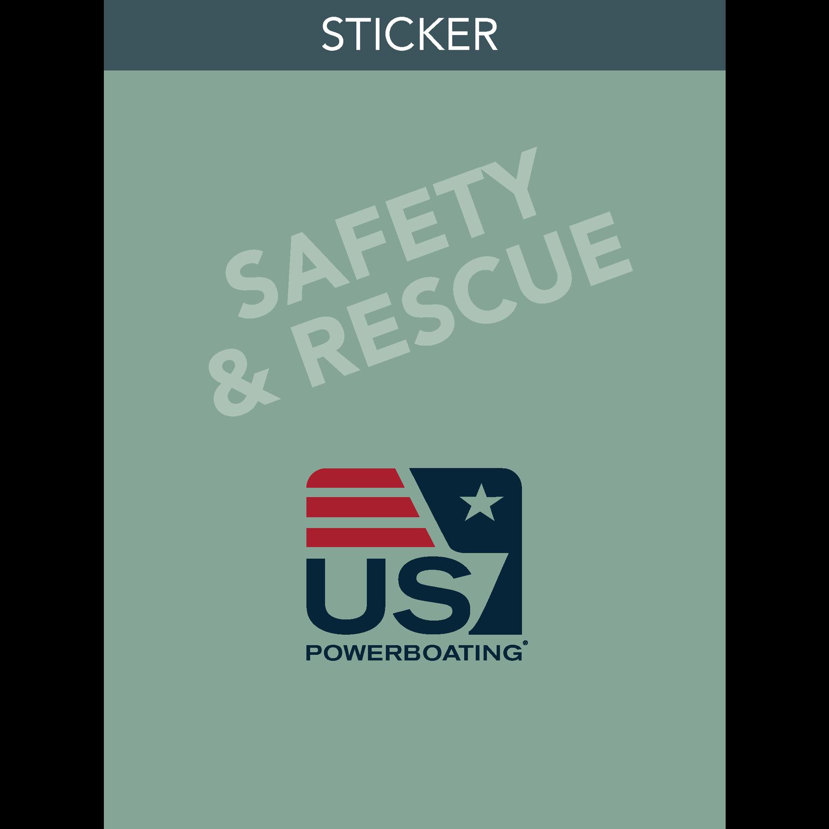 Safety & Rescue Sticker