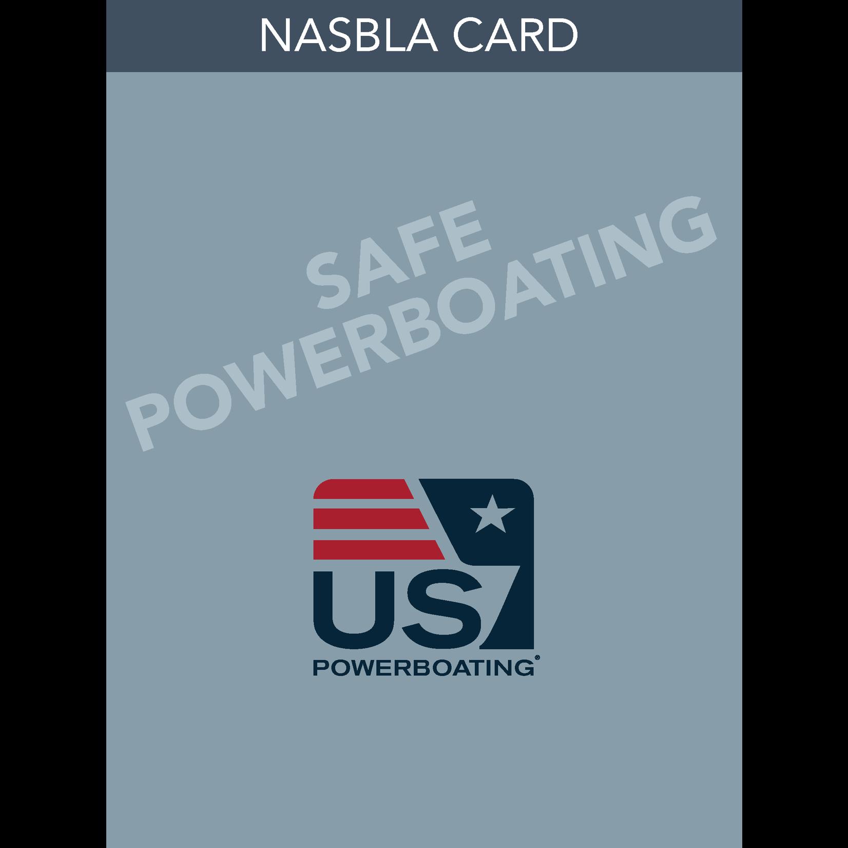 TEXT Safe Powerboating NASBLA Card