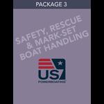 Safety, Rescue & Mark-Set Boat Handling- Package 3