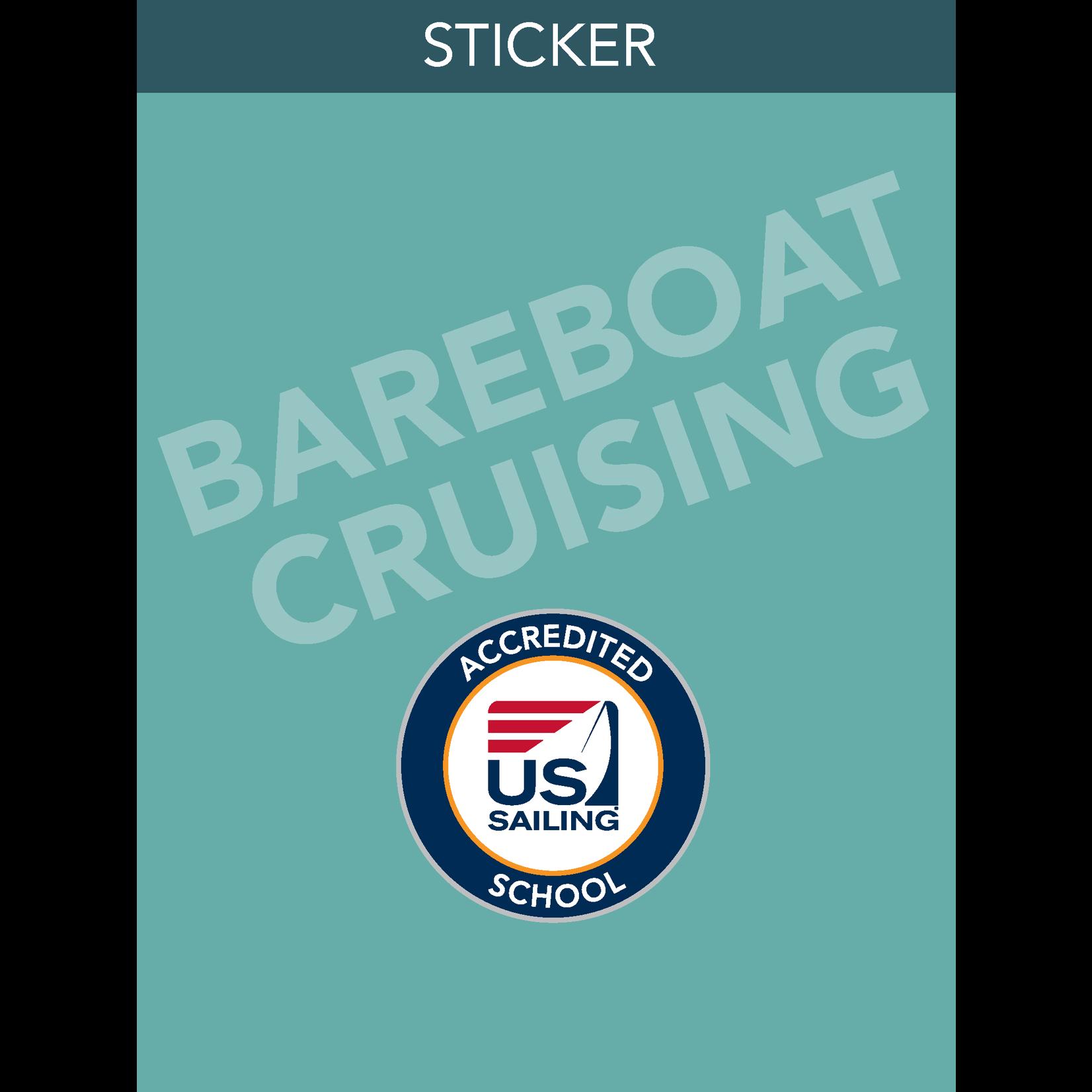 Bareboat Cruising Sticker