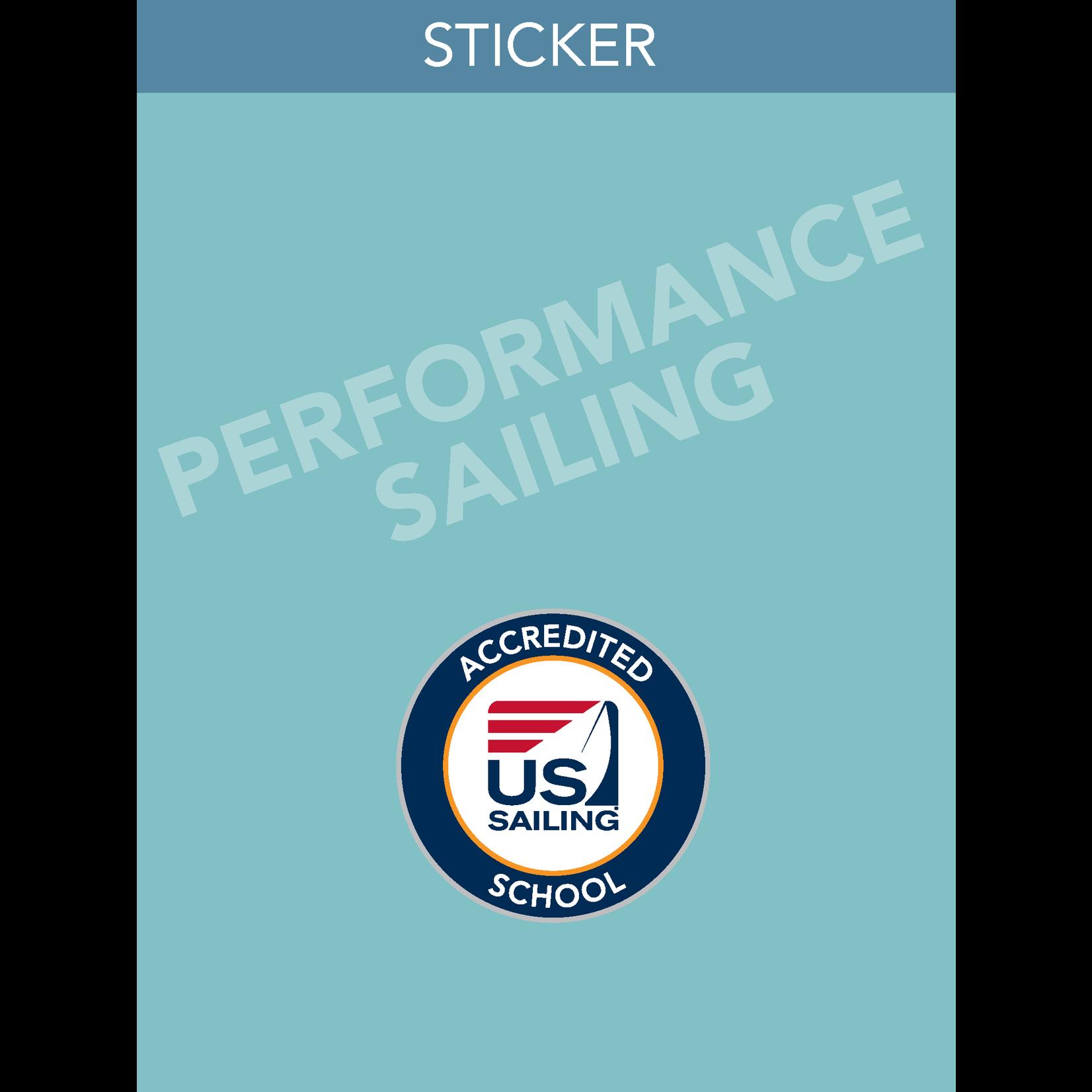 Performance Sailing Endorsement Sticker