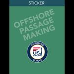 Offshore Passage Making Sticker